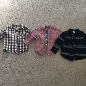 2T Dress Shirt Bundle